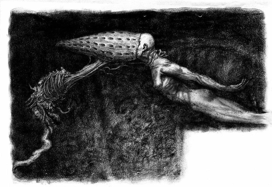 David's experiment Alien Covenant by Matt Hatton
