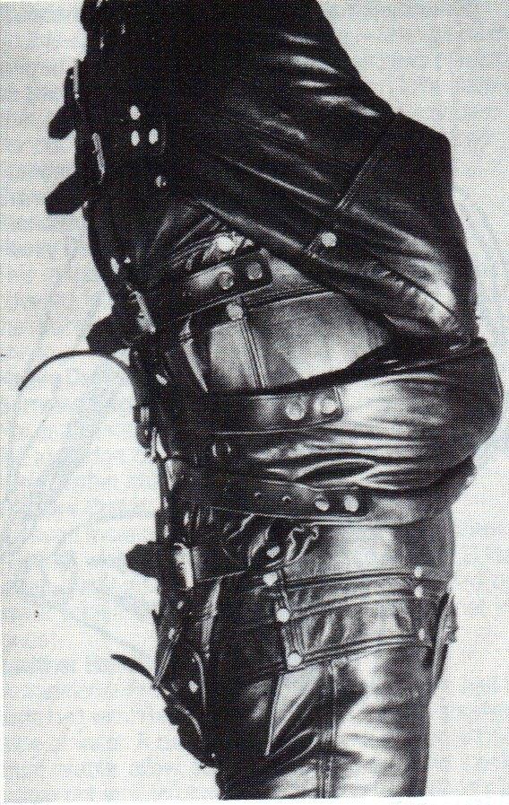 black strait jacket bondage